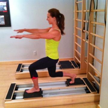 Pilates practice: Three exercises for the CoreAlign machine