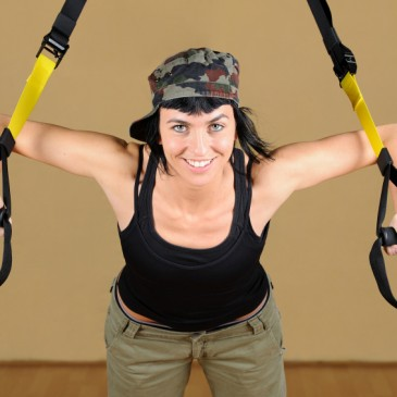 Strength building with TRX